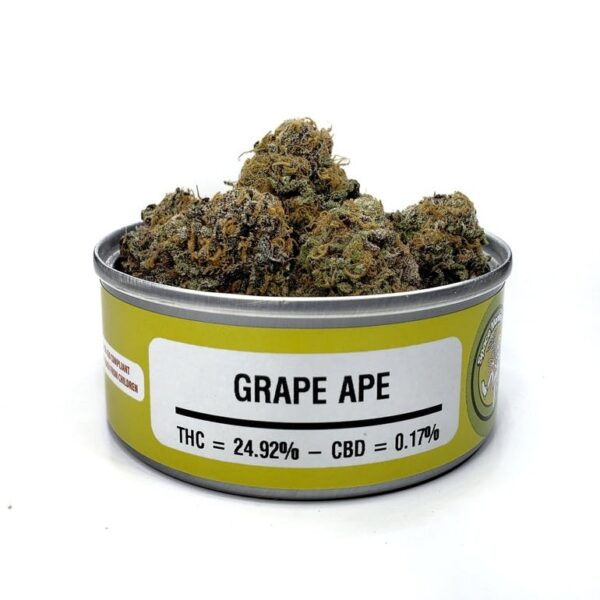 Grape Ape Space Monkey-gelatostrainestate